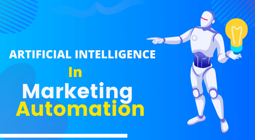 AI in marketing automation banner image