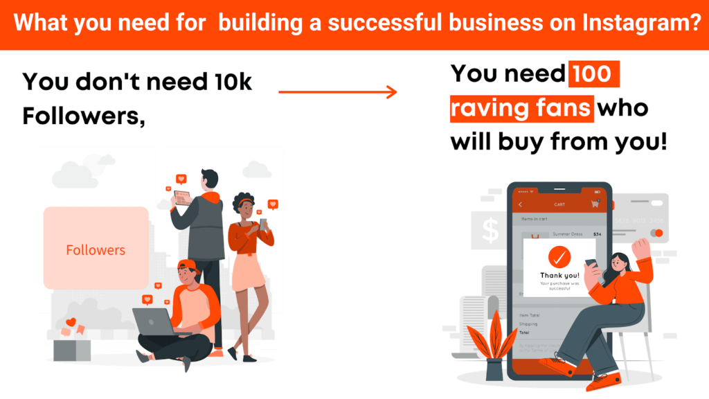 building a successful business on instagram