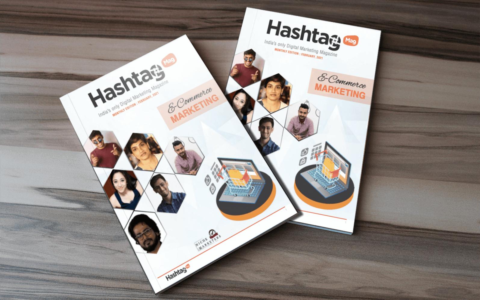 ecommerce marketing magazine cover